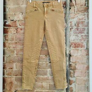RALPH LAUREN SPORT sz:25 skinny tan riding pants